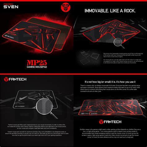 Fantech Sven Mp25 Mousepad Gaming Speed 25 X 21 Cm Best Price Fantech Sven Mp25 High Non Slip Bas End 7 14 2018 11 15 Am