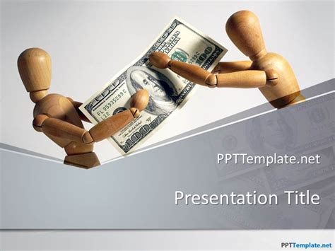 financial powerpoint templates free money ppt template