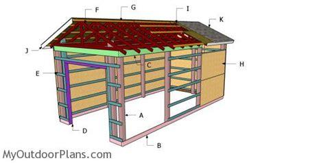 pole barn roof  diy plans myoutdoorplans