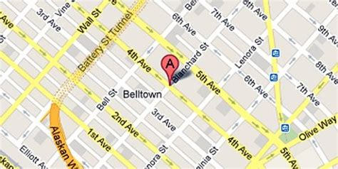 seattle map belltown stabbed in in belltown seattle 911 a