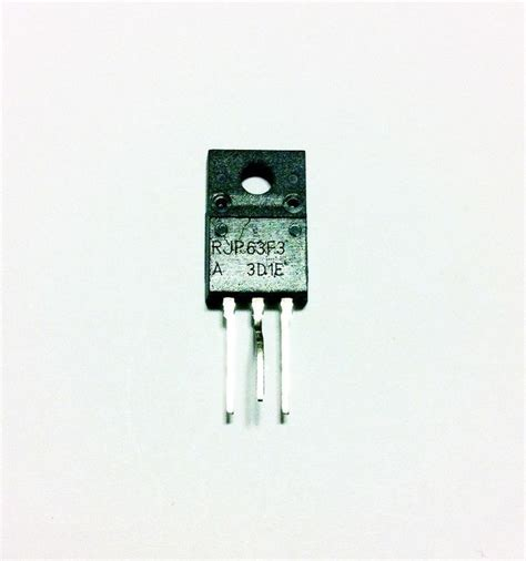 mosfet transistor high current new rjp63f3 rjp63f3a transistor to 220 silicon n channel igbt high