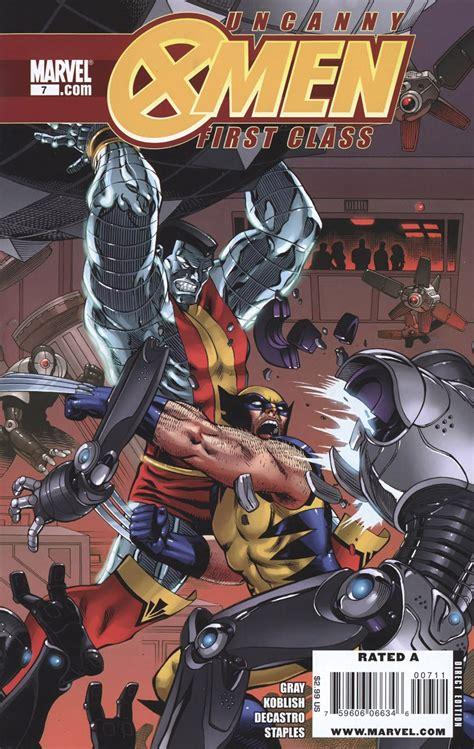 Marvel X Class 1 uncanny class vol 1 7 marvel database