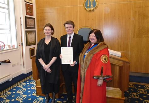 students admitted  apprentices   guild  mercers scholars thomas telford school news