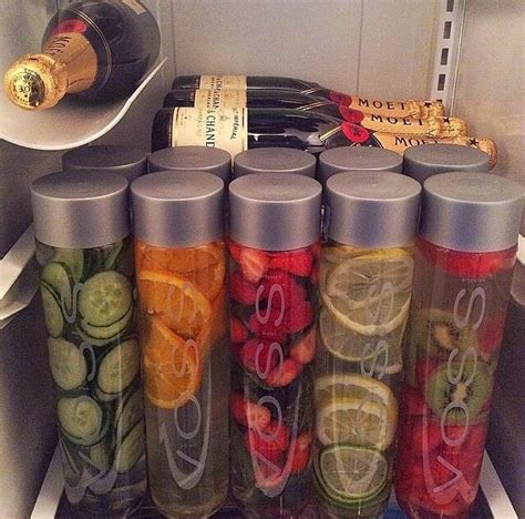Voss Water Detox Diet by Fruit Infused Voss Water And Chagne Detox Water