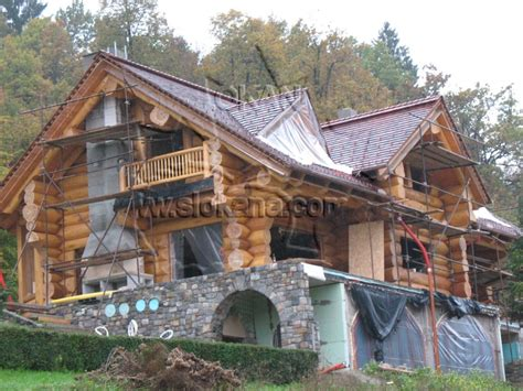 Handcrafted Log Home - log homes handcrafted log homes log home floorplans log
