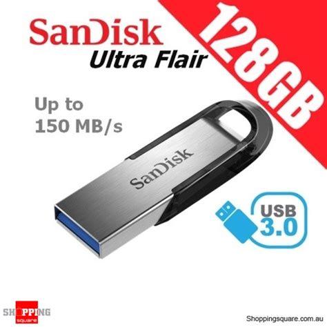 Flash Disk Sandisk Ultra Flair 32gb 150mbps sandisk 128gb ultra flair 3 0 usb flash drive shopping shopping square au
