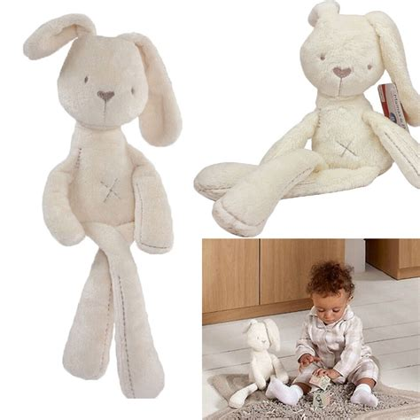 a gift that is soft 2015 baby rabbit bunny sleeping comfort stuffed soft plush dolls ebay