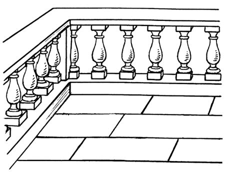 porch clipart balustrade buildings porch balustrade png html