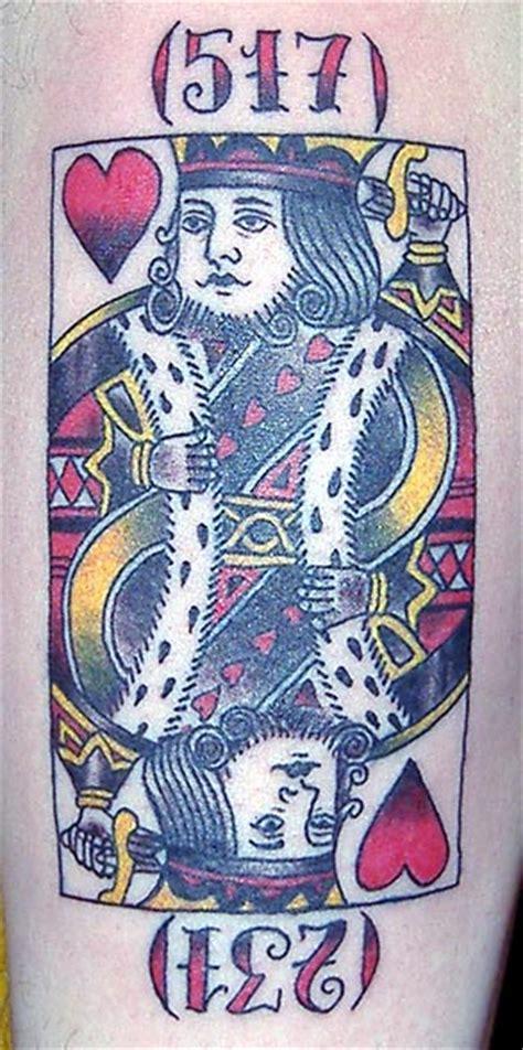 king  hearts tattoos