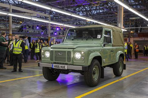 land rover jaguar jaguar land rover renews trademark for defender name