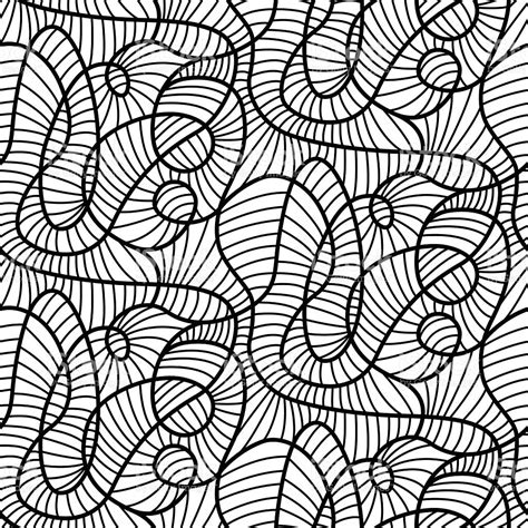 abstract lines pattern vector abstract lines madness seamless pattern modern design