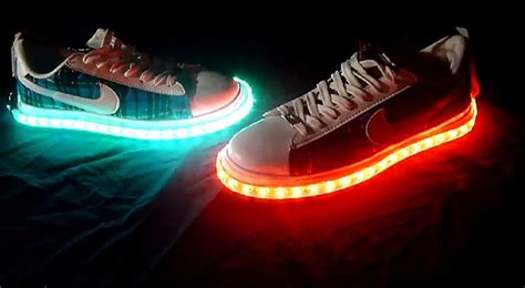 diy led shoes diy cool light up shoes light up shoes project ideas