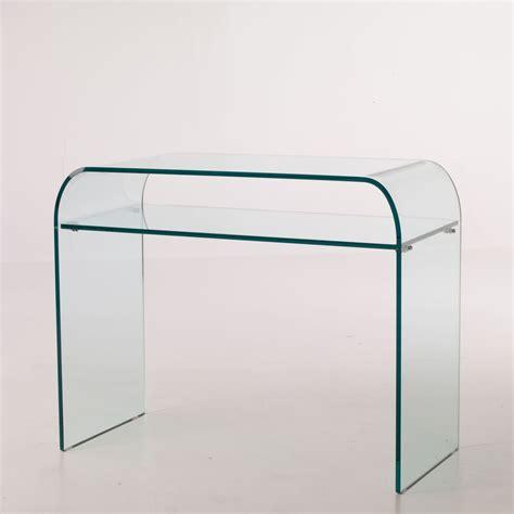 consolle in vetro per ingresso consolle da ingresso in vetro con ripiano 88 x 44 cm daniel