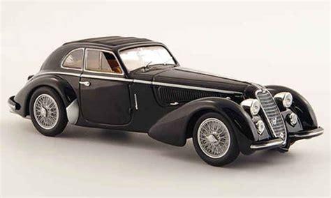buy alfa romeo 8c alfa romeo 8c 2900 b lungo black 1938 minichs diecast