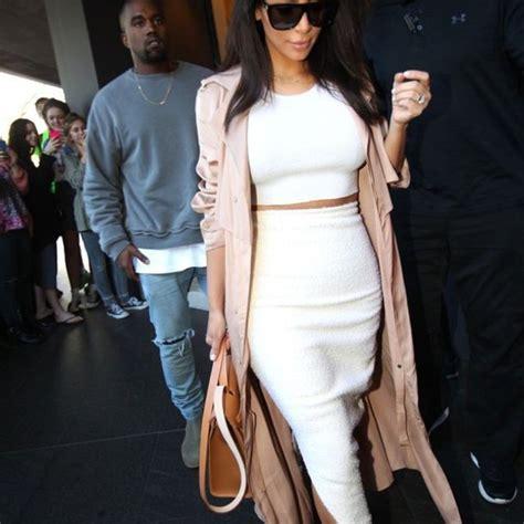 celebrity pink trench coat coat kim kardashian pink trench coat chic classy