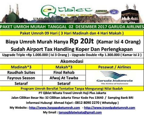 paket indosat murah desember 2017 paket umroh desember 2017 promo murah 18jt sv 20jt ga direct