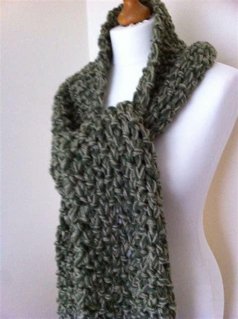 Chunky Knit Scarf chunky knit scarf pattern a knitting