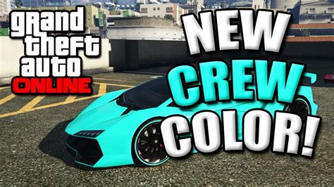 gta 5 crew colors gta 5 paint best modded crew colors 7