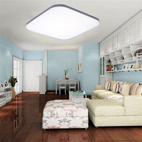 ultra thin  led ceiling light kitchen bedroom lamp recessed remote dimmable ebay