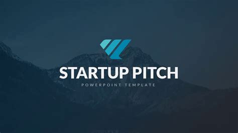 Startup Pitch Powerpoint Youtube Powerpoint Template Startup Pitch