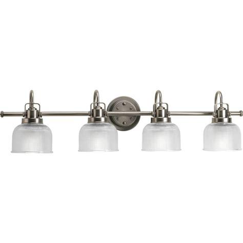 bathroom lighting collections progress lighting archie collection 4 light antique nickel