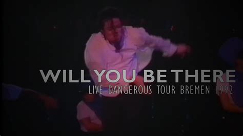 Will You Be There michael jackson quot will you be there quot live dangerous tour