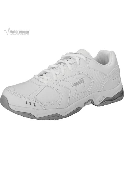 slip resistant athletic shoes avia s slip resistant athletic shoe a1439m murse world