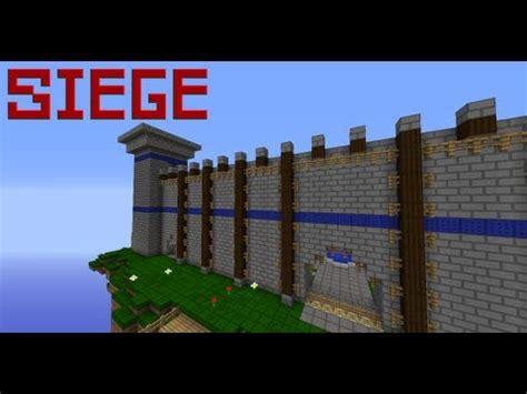 minecraft siege siege minecraft pvp redstone minigame minecraft project