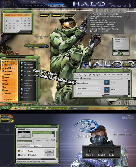 themes pc download download halo desktop themes icons and windows mobile skins