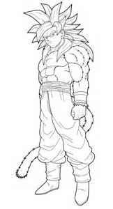 Goku Ssj Coloring Pages  High Quality sketch template