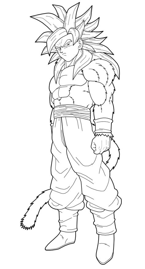 coloring pages goku dragon ball z ss4 coloring pages az coloring pages