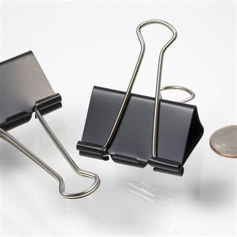binder clip large binder black