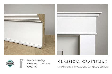 12 X 8 Bungalow House Design Free classical craftsman header molding buildup header