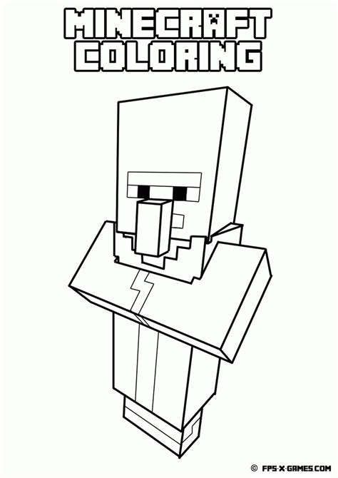 minecraft coloring pages zombie minecraft zombie coloring page coloring home