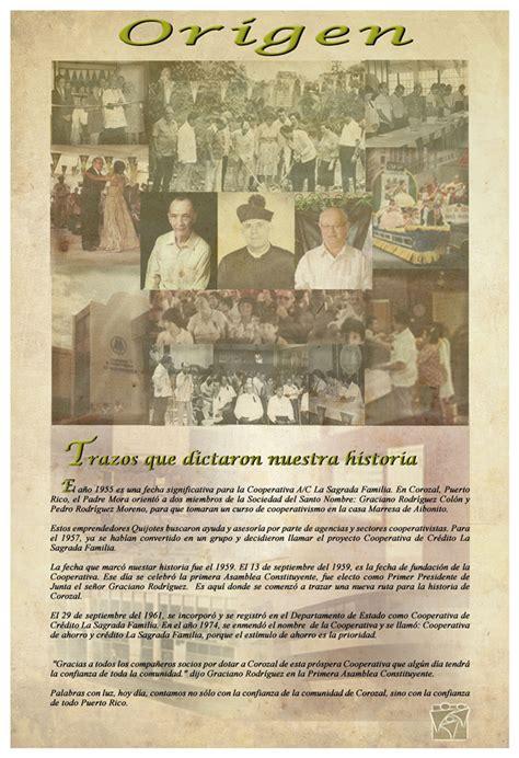 Historia   Cooperativa La Sagrada Familia