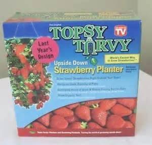 topsy turvy strawberry planter brand new