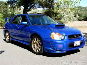 2004 Subaru Wrx Sale 2004 Subaru Impreza Wrx Sti For Sale