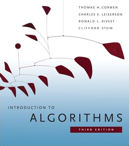 is intelligence an algorithm books introduction to algorithms the mit press