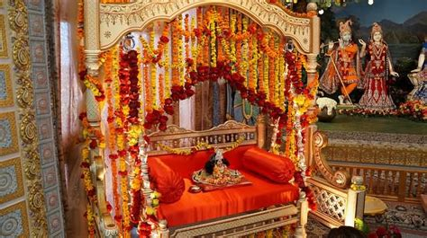 how to decorate a temple at home 15 krishna janmashtami decoration pictures and images