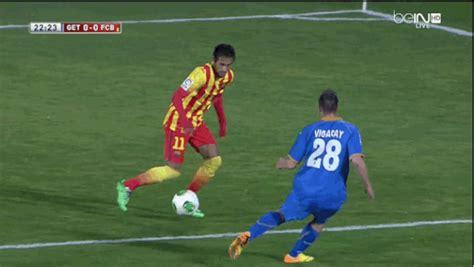 ousmane dembele knee injury neymar ankle gif create discover and share on gfycat