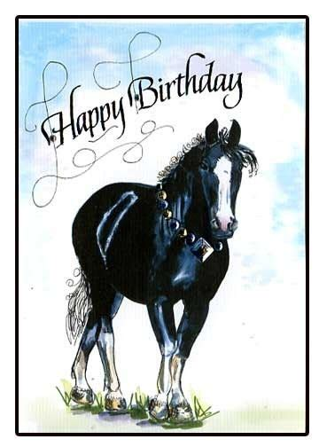 printable birthday cards with horses 14 best images about birthday cards on pinterest cards
