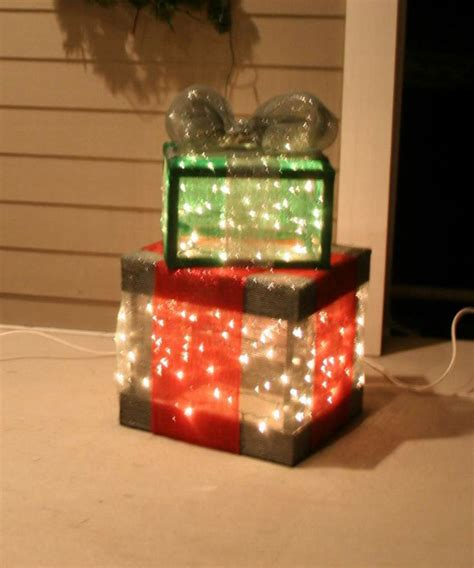 lighted christmas gift boxes princess decor