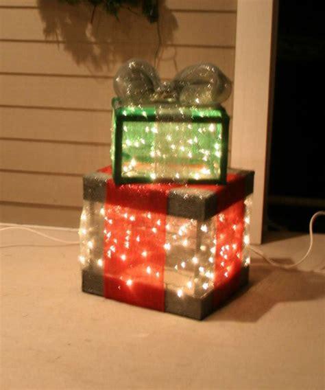 Lighted Christmas Gift Boxes Princess Decor Present Lights