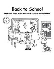 back to school coloring page back to school coloring pages collections 2011