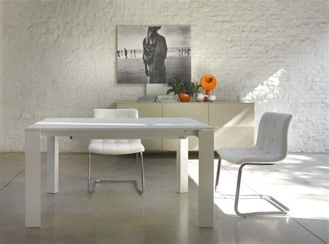 tavoli allungabili bontempi tavolo bontempi allungabile pascal con struttura in acciaio
