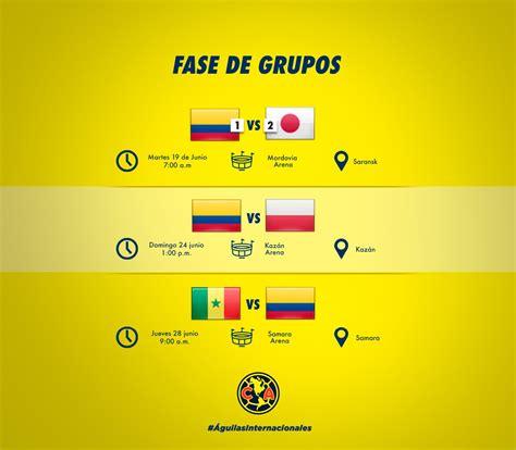previo colombia vs polonia copa mundial club am 233 rica