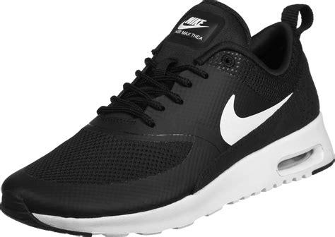 nike air max thea  scarpa nero bianco