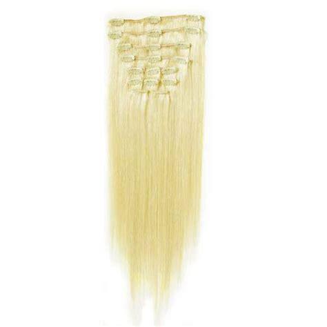 Hair Clip Hairclip Hair Klip Lurus 60 65cm clip on hair extensions platinablond 65 cm