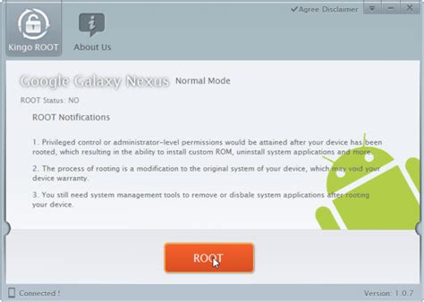 kingo android root kingo android root offers one click rooting for several devices