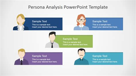 Persona Analysis Powerpoint Template Slidemodel A Template In Powerpoint